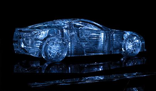 Crystallised Lexus LFA