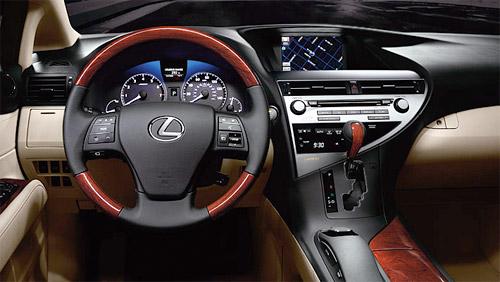 Lexus RX450h Interior