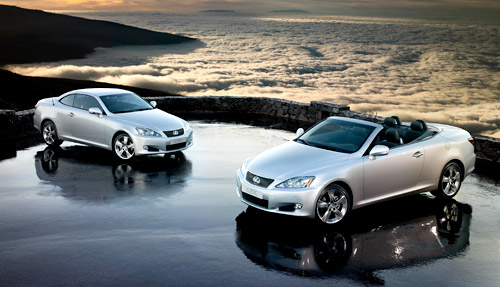 2010 Lexus IS250C Convertible. Lexus has shared some of the sales