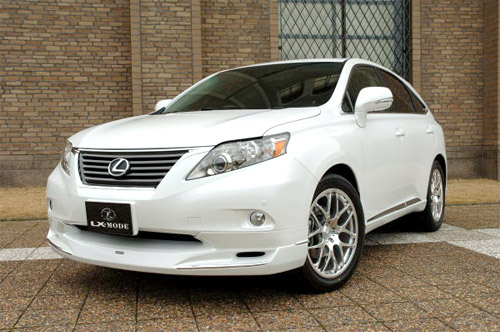 Lexus RX350 & RX450h Body Kit by LX Mode