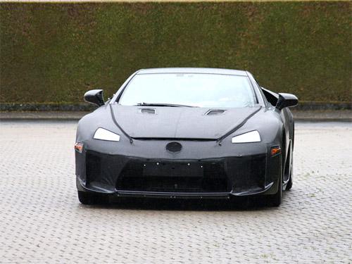 2010 Lexus LFA Spy Shots 1