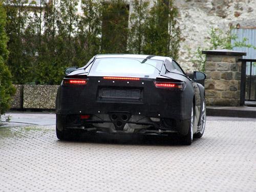 2010 Lexus LFA Spy Shots 2