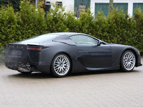 2010 Lexus LFA Spy Shots 3