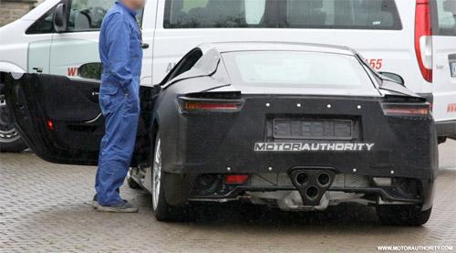 2010 Lexus LFA Spy Shots 4