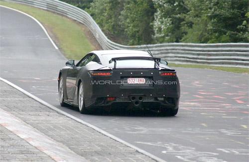 2011 Lexus LFA with extending wing 2