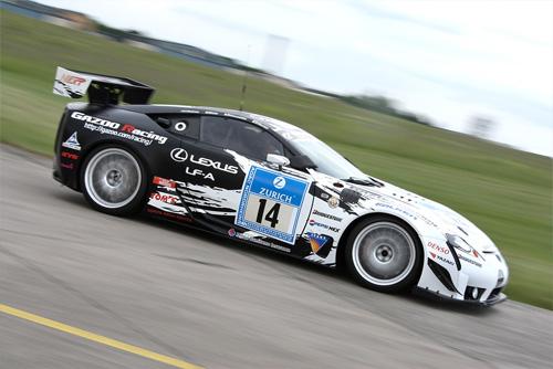 Lexus LFA Race Cars