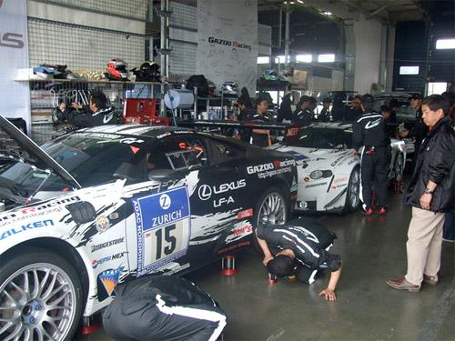 Lexus LFA Racing 3
