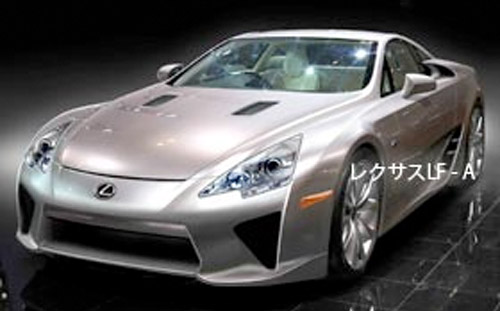 The LFA will be receiving a new name, possibly the SS (for Super Sport) or