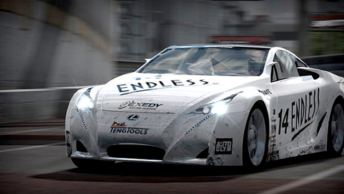 Lexus LFA in New Need for Speed Video Game
