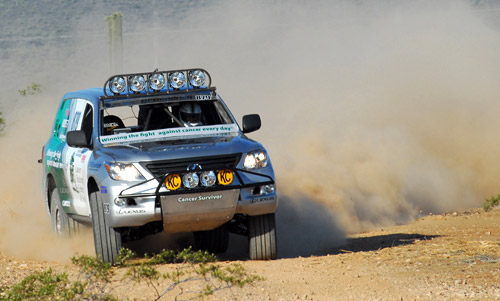 Lexus 570 Racing in Baja 500