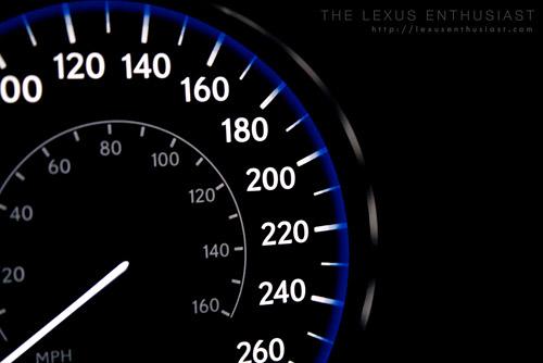 Lexus LX570 Gauge