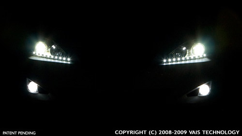 VAIS Technology VLine LED Lights at Night