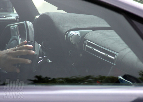 Lexus LF-A Interior spy shot