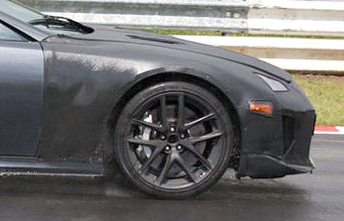 Lexus LFA New Wheels