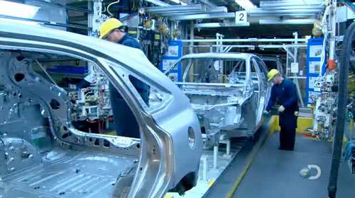 2010 Lexus RX350 Manufacturing