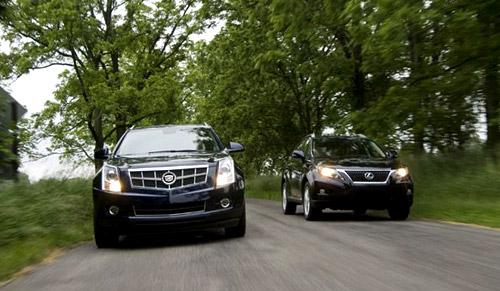 Lexus RX350 vs. Cadillac SRX