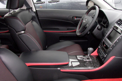 Lexus GS Interior Accents package