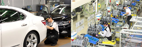 Toyota Tahara Manufacturing Plant