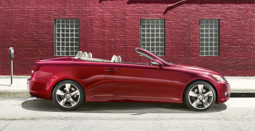 2010 Lexus IS-C Convertible