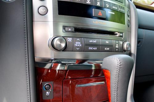 Lexus LX 570 Interior Chrome Accent