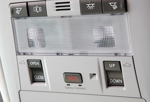 Lexus Enform SOS Button