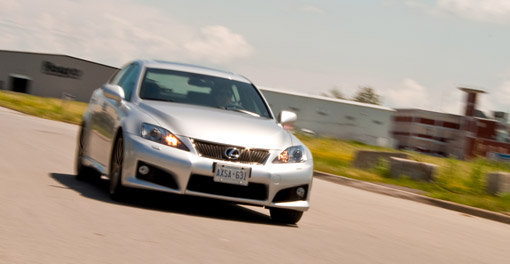 The 2009 Lexus IS-F in Motion