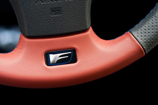 Lexus IS-F Steering Wheel