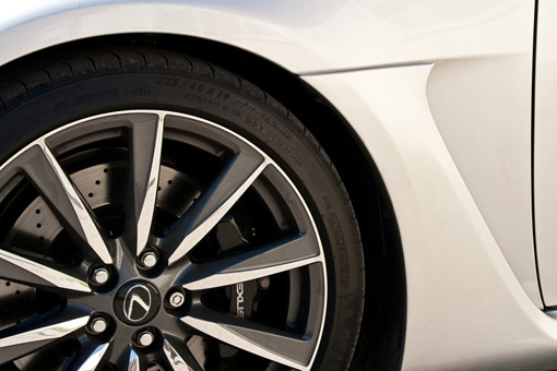 Lexus IS-F Wheels