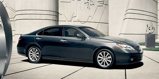 2009 Lexus ES 350 Side View