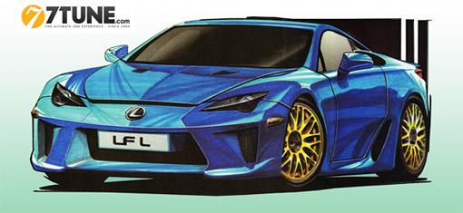The Lexus LF-L