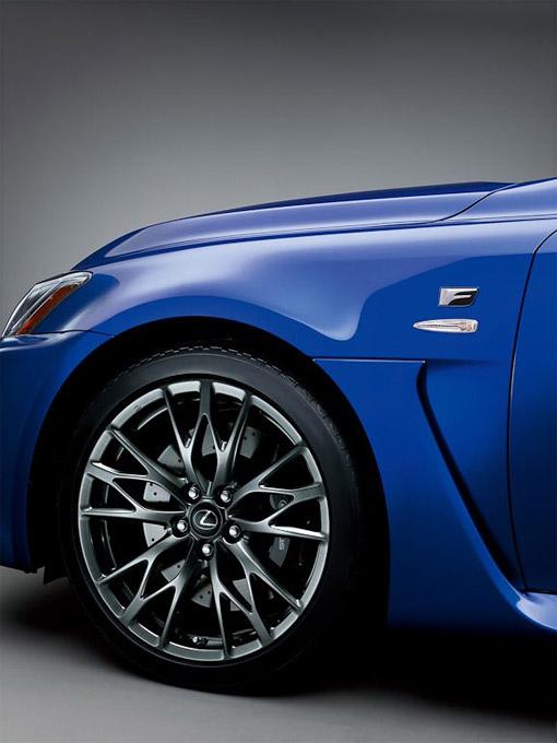 2010 Lexus IS-F Wheels