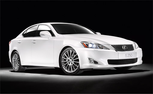 2010 Lexus IS 250 with F-Sport Package