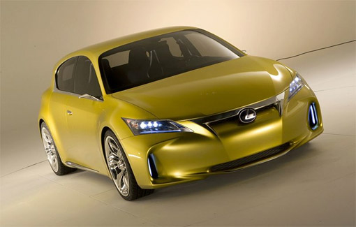 Front View of the Lexus LF-Ch Concept