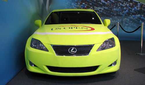Lexus IS 350 Dressed up like a tennis ball
