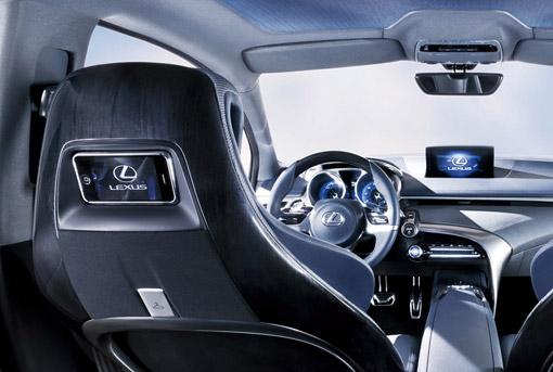 Lexus LF-Ch Interior Detail