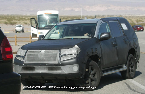 2010 Lexus GX 460 Spy Photos Front
