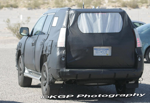 2010 Lexus GX 460 Spy Photos Rear
