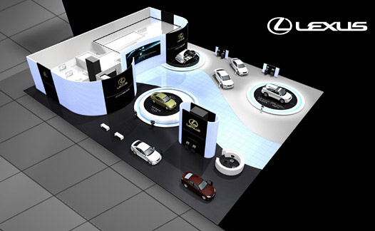 The Lexus Display at Frankfurt 2009