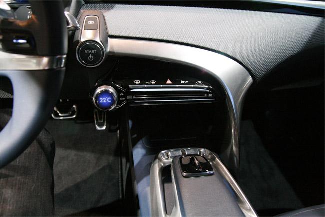 Lexus LF-Ch Interior