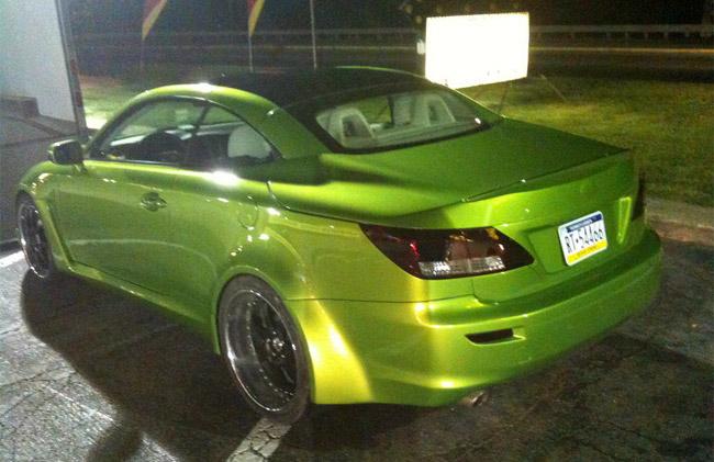 Lexus IS 350c by Fox Marketing Rear