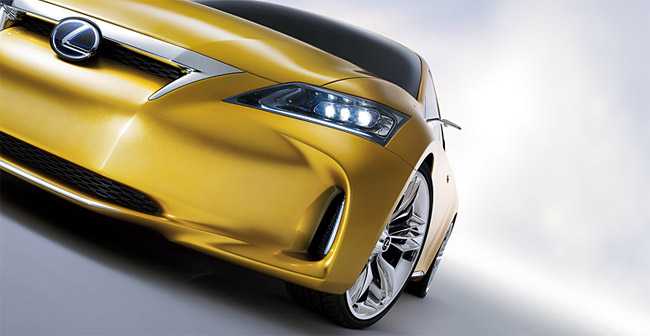 The Lexus LF-Ch Concept Hatchback