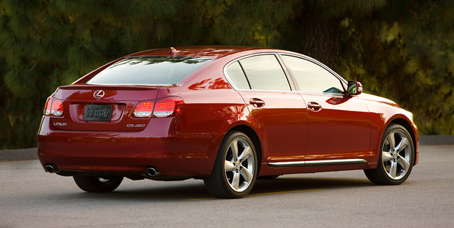 Information on the 2010 Lexus GS 350 & 460 has been announced,