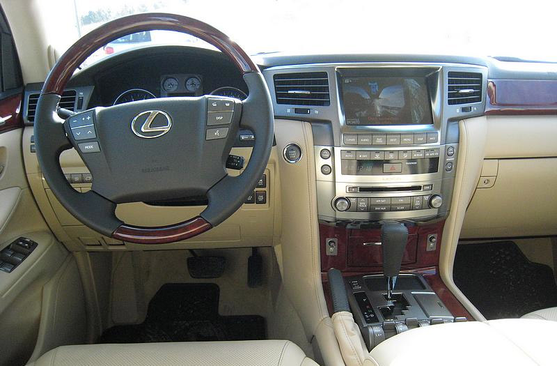 2010 Lexus LX 570 Interior. All in all, it's a very nice display of Lexus