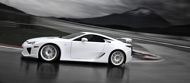 Lexus LFA Official Photos