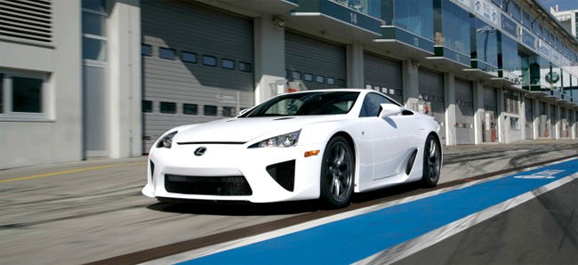 Lexus LFA at Edmunds Inside Line