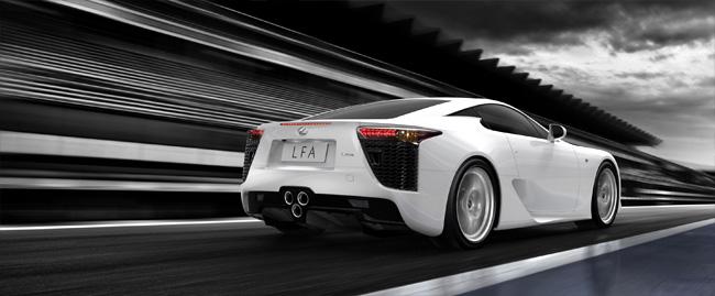 Lexus LFA Rear