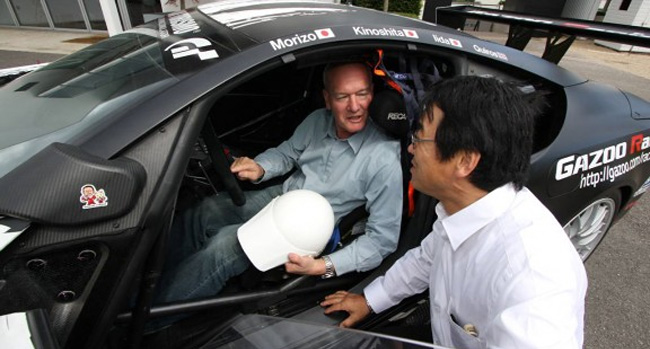 Lexus LFA Chief Engineer Haruhiko Tanahashi