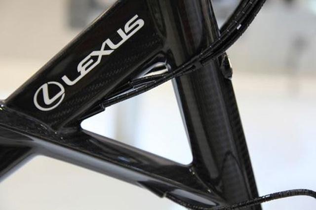 Lexus Carbon Fiber Bicycle