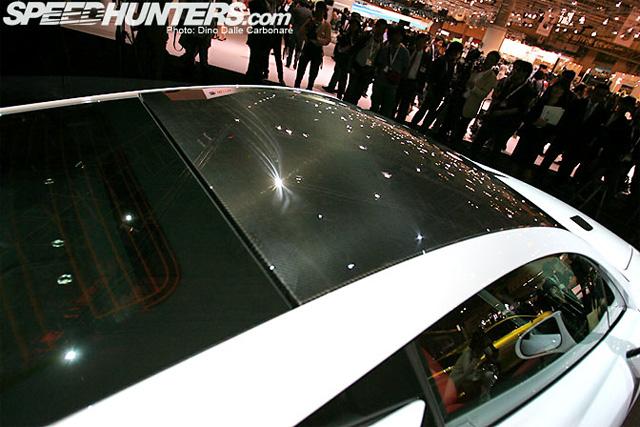 Lexus LFA Carbon Weave Roof