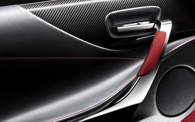 Lexus LFA Interior Door Wallpaper